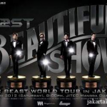 Boyband K-Pop 'Beast' in Concert