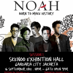 Tur Konser Perdana Noah Band Born To Make History