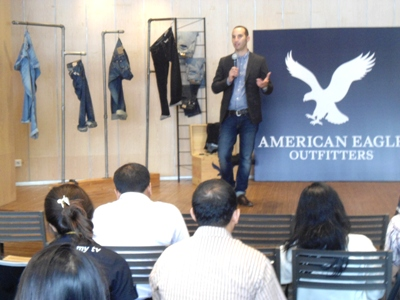 Mr Kareem Gahed, VP International Country Licensing American Eagle Outfitters