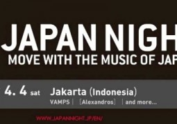 Konser Japan Night di Indonesia, Digelar April 2015