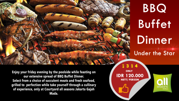 sTREATs Restaurant Hadirkan Promo BBQ Buffet Under The Star