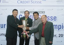 Credit Suisse Amateur Match Play Championship - Trophy Shot