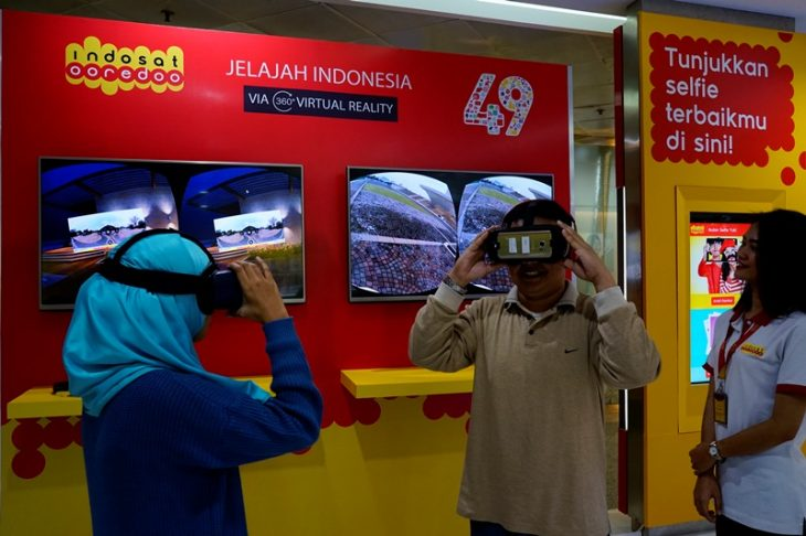 Indosat Ooredoo Hadirkan Digital Gerai dan Virtual Reality 360 Video Booth
