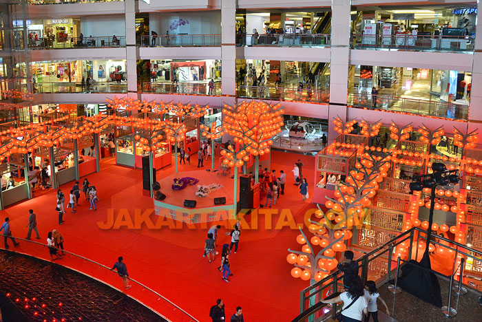 Semarak Imlek, Mall Taman Anggrek Gelar 'Chinese New Year Night Market'