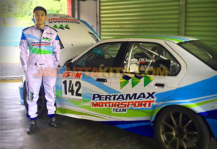 Pertamax Motorsport Dukung Aldio Oekon di Ajang International Sentul Series of Motorsport (ISSOM) 2017