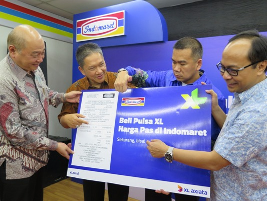 XL-Indomaret Pulsa Harga Pas