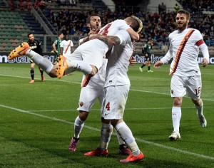 as roma sassuolo
