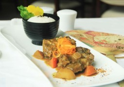 curry oxtail - veranda restaurant