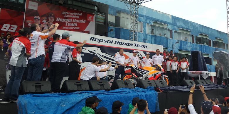 AHM sponsor Repsol Honda -MotoGP