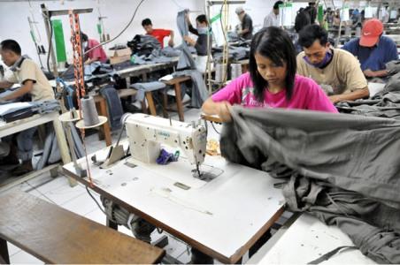 Ilustrasi Buruh Garmen