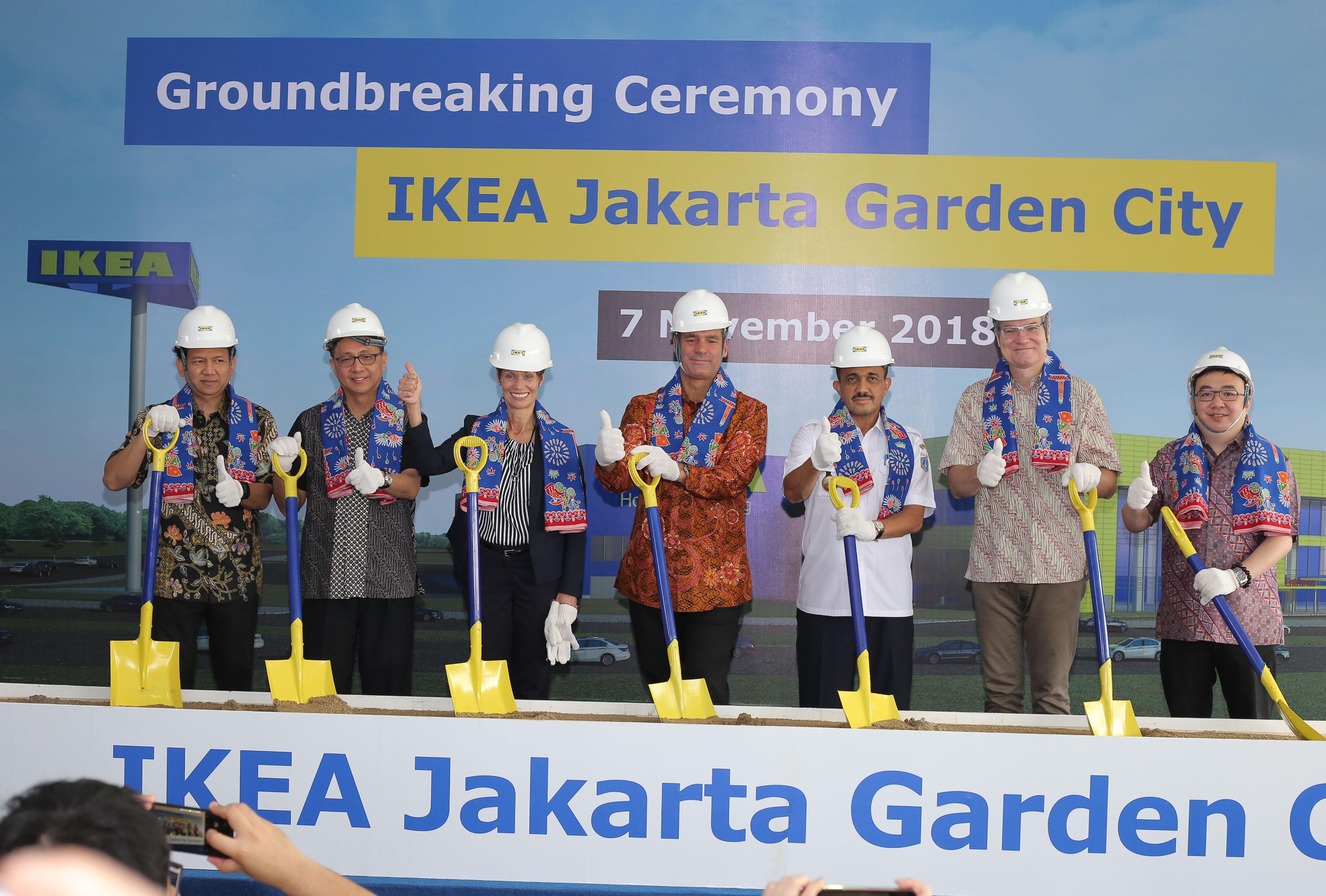 IKEA Gelar Seremoni Peletakan Batu Pertama IKEA Jakarta Garden