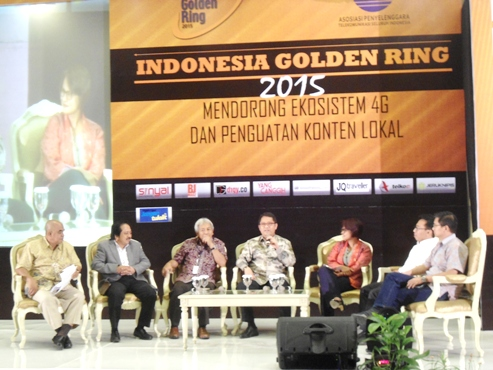 Indonesia Golden Ring Award 2015