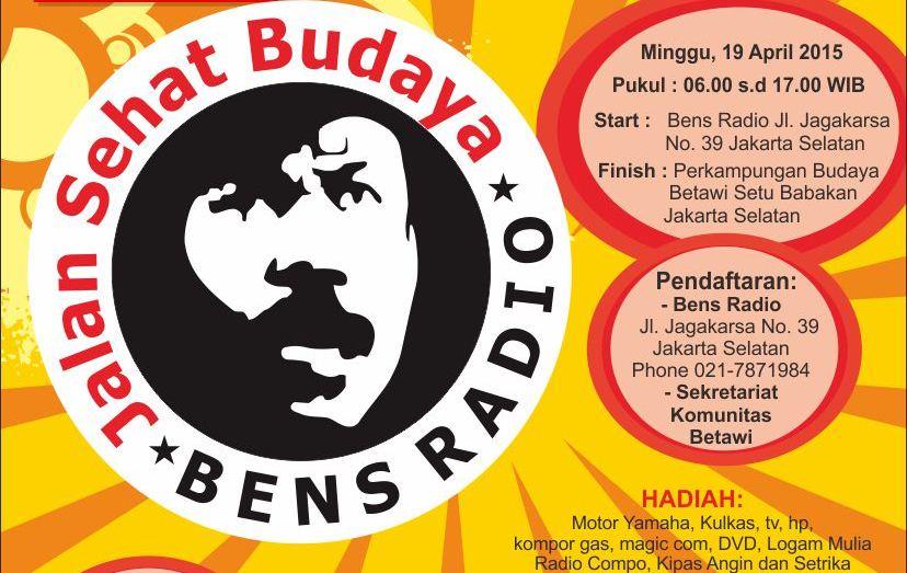 Jalan Sehat Budaya Bens Radio