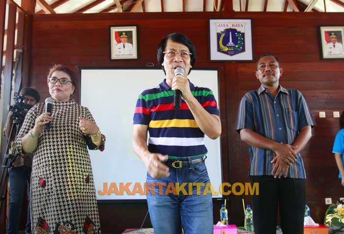 Kak Seto di Pulau Untung Jawa