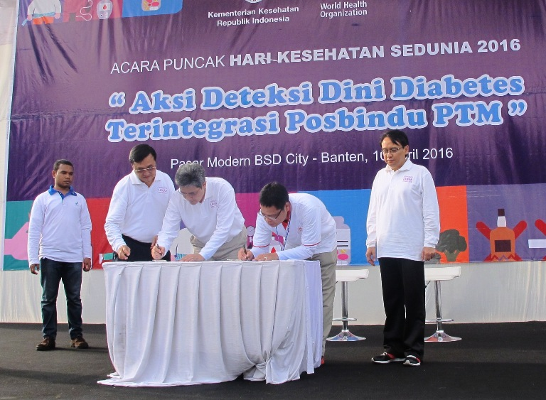 Signing Ceremony MoU BSD City – BPOM