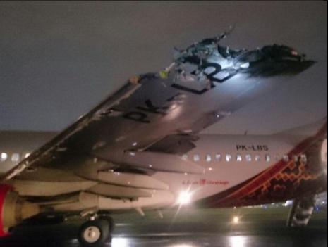 Tabrakan Pesawat Batik Air di Halim Perdana Kusuma