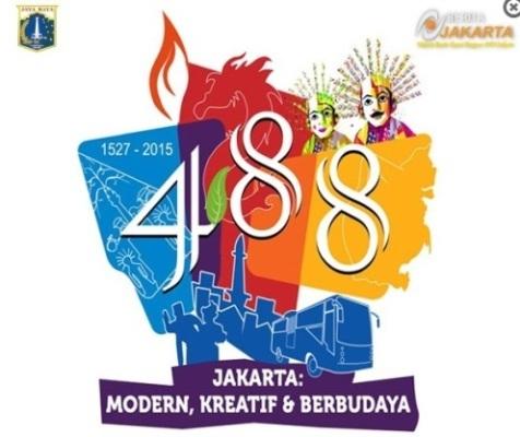 logo hut dki jakarta ke-488