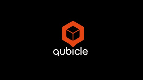 logo qubicle black
